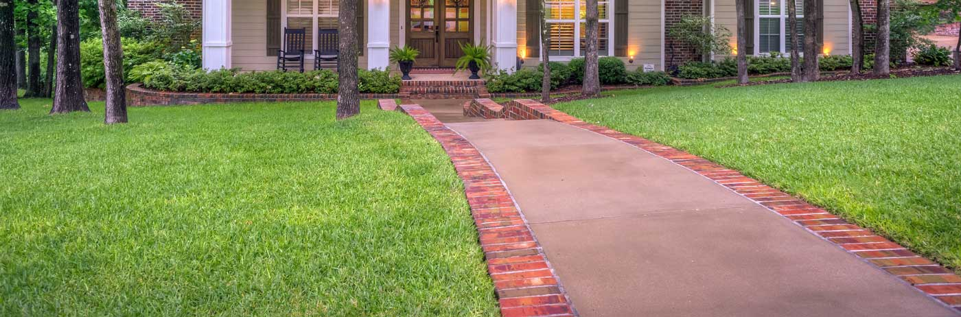 Front Yard- Grass- Organic Lawn Care, Weed Control, and Crabgrass Control- Gaithersburg Maryland